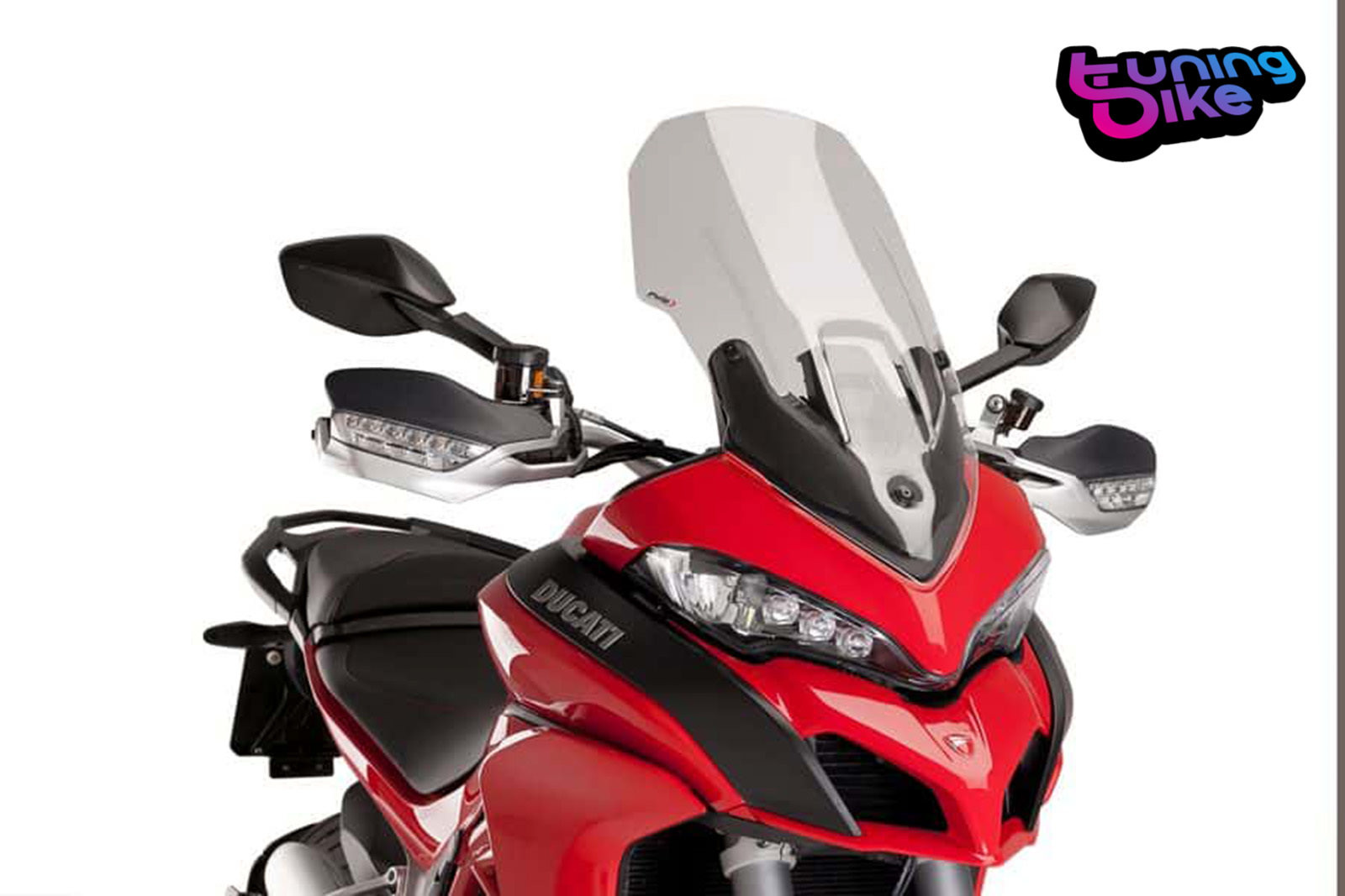 TOURING SCREEN PUIG DUCATI MULTISTRADA 1260/S/S D AIR 18' LIGHT SMOKE