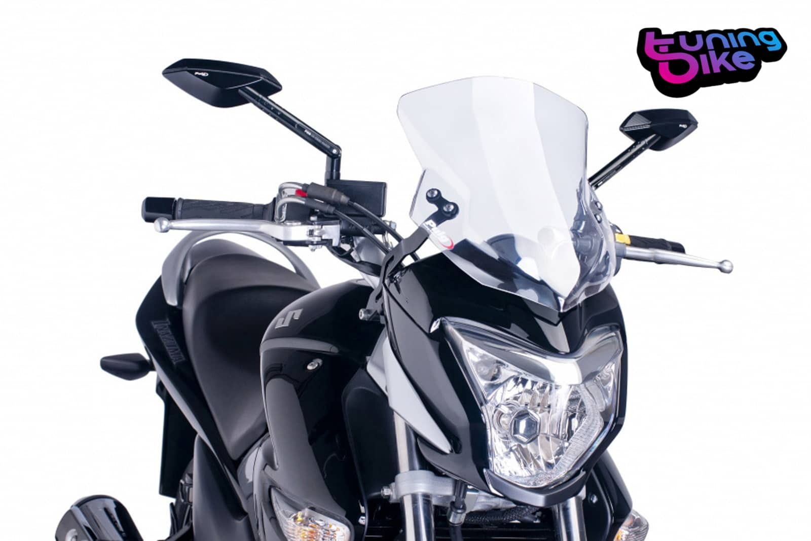 Cupolino Puig Sport Suzuki Inazuma 250 12-17 Naked New Generation trasparente