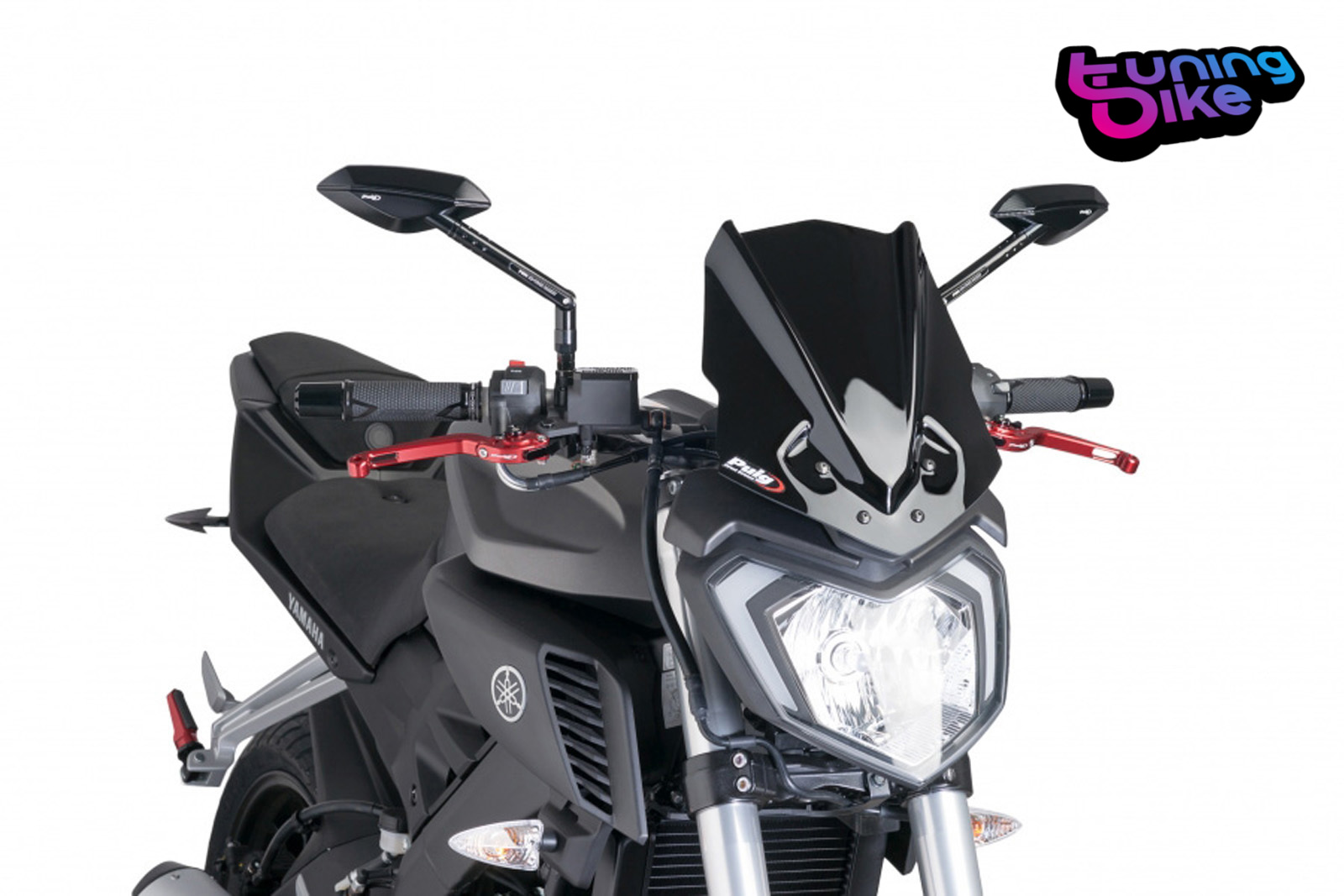 Cúpula Puig Yamaha XJ6 Naked New Generation Sport Ahumado