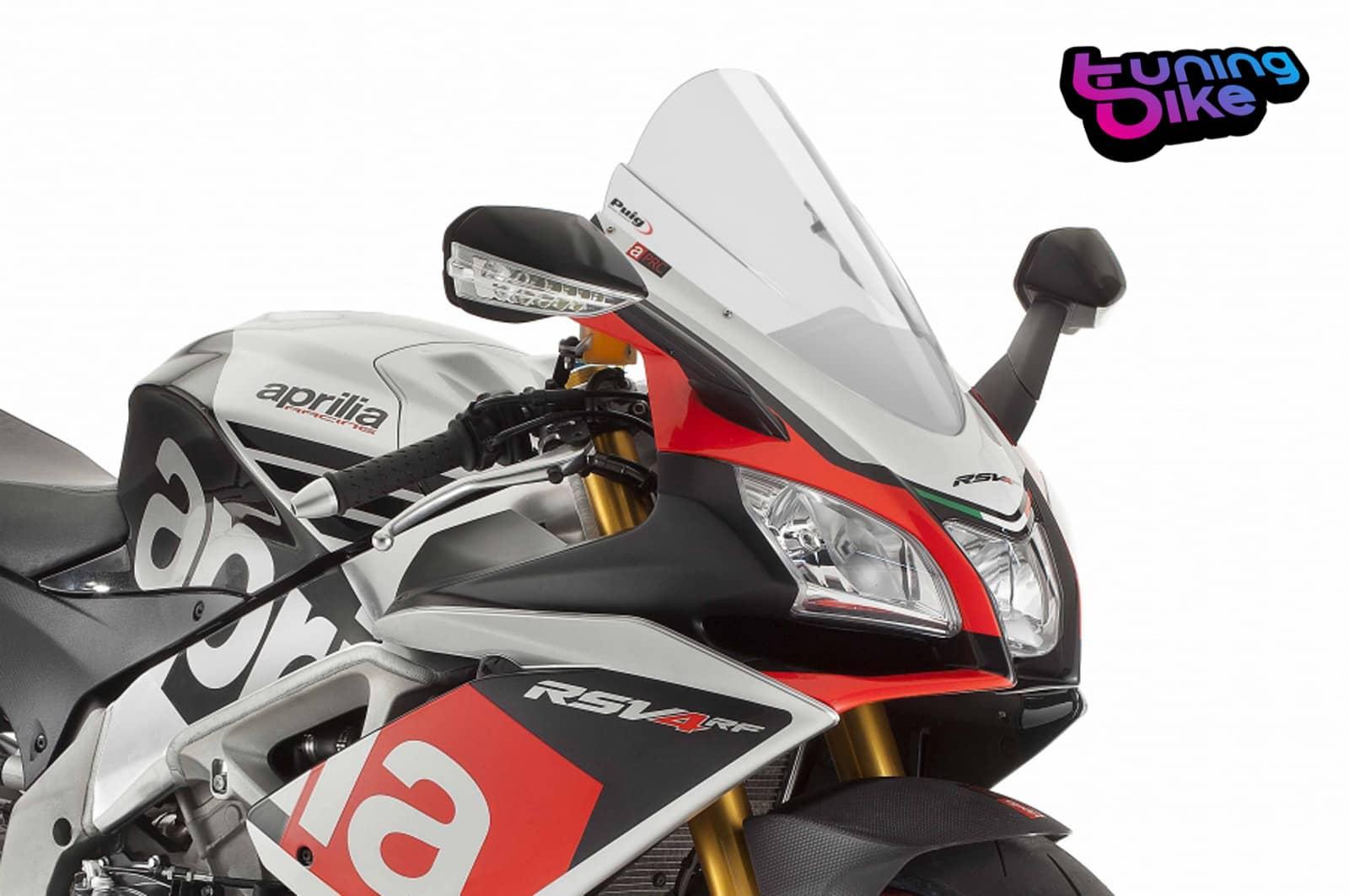 Puig Windscreen Z Racing Aprilia Rsv4 Rf Rr 2018 Transparent Ebay