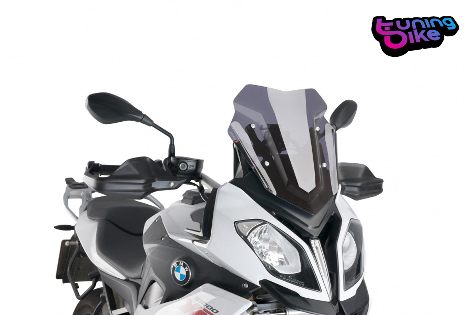 Puig Touring Windscreen 15-19 BMW S1000XR DARK SMOKE