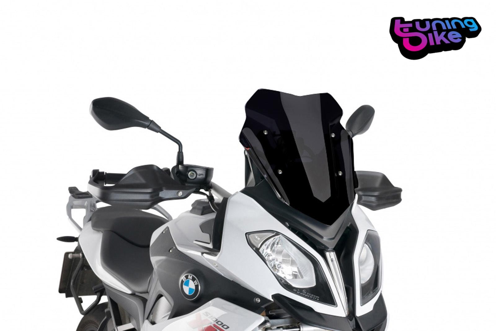B-Ware Racing-Scheibe Puig BMW R 1200 RS 15-18 schwarz Verkleidungs-Scheibe