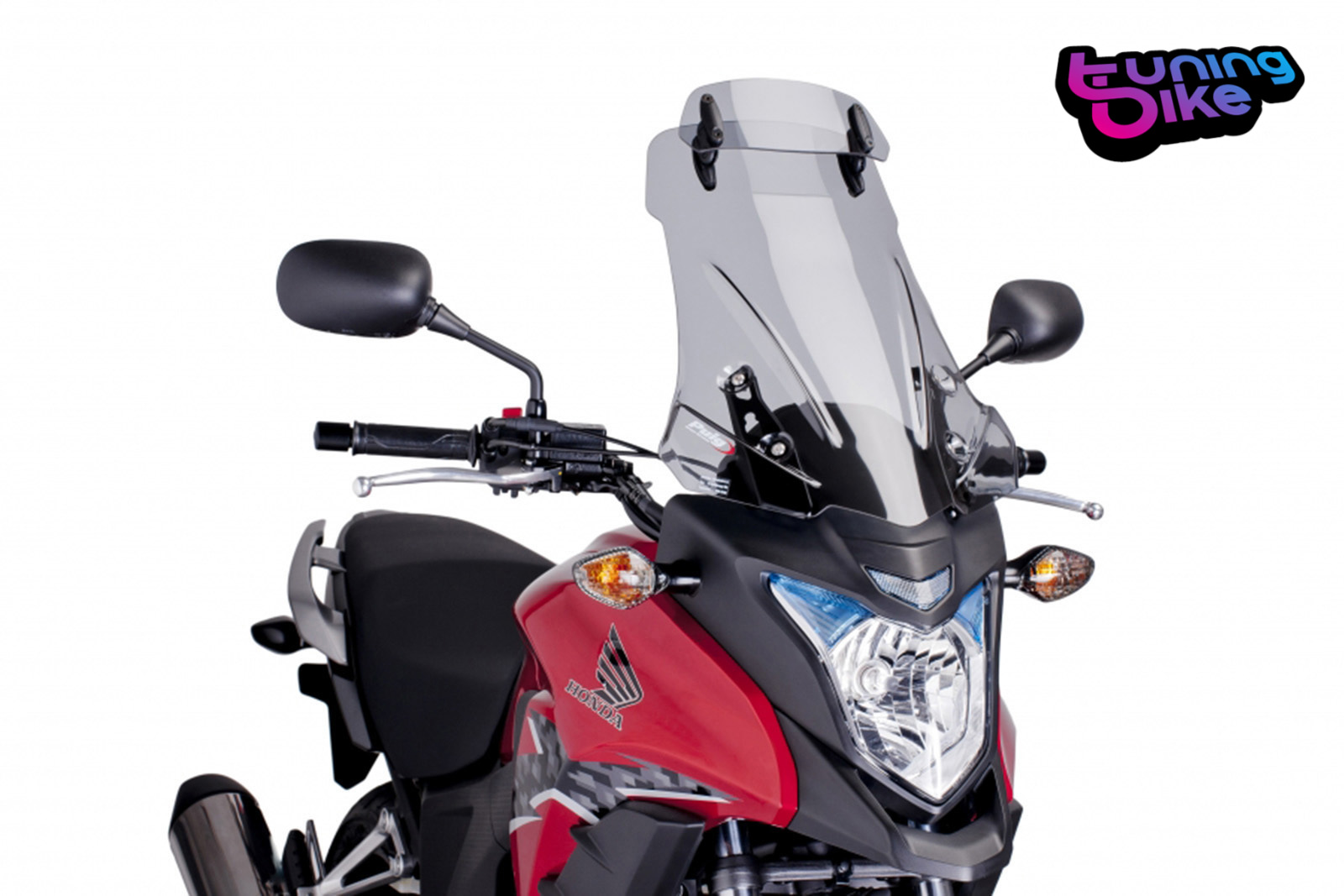 HONDA CB 500 X 2013 /> PUIG SCREEN DARK SMOKE TOURING WINDSCREEN