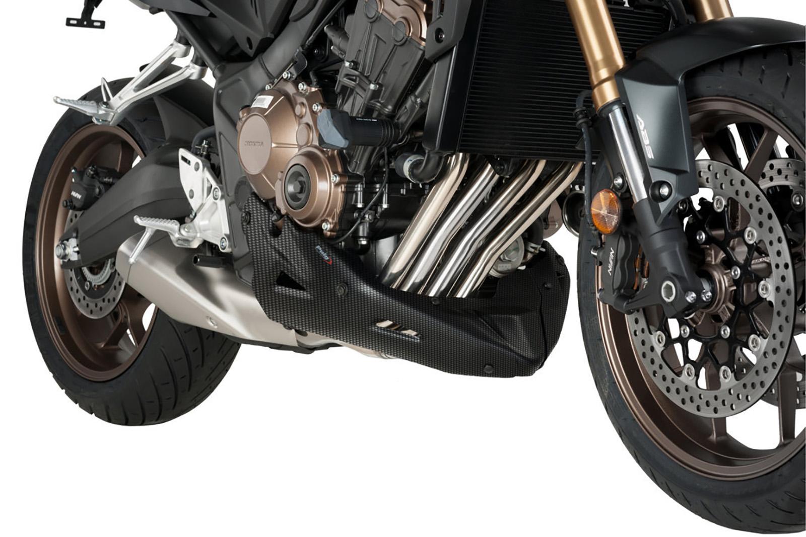 PUIG ENGINE SPOILER HONDA CB650F 2015 MATT BLACK