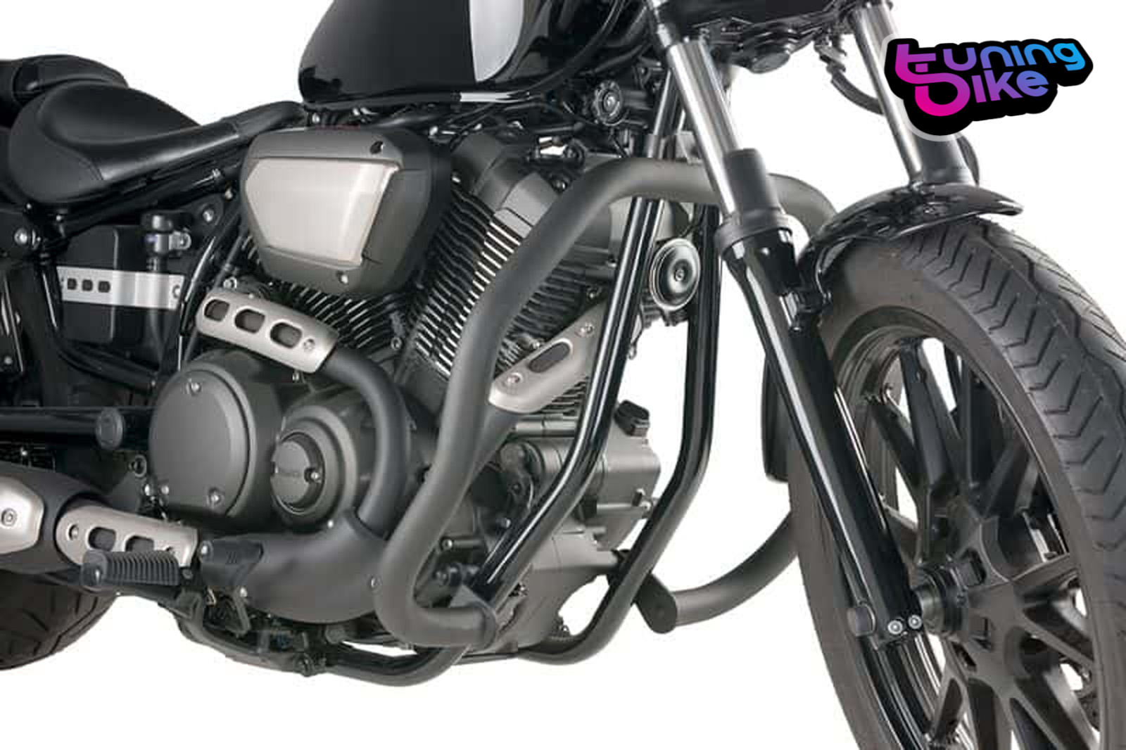 engine guards custom acces yamaha xv950 racer 16 39 17. Black Bedroom Furniture Sets. Home Design Ideas