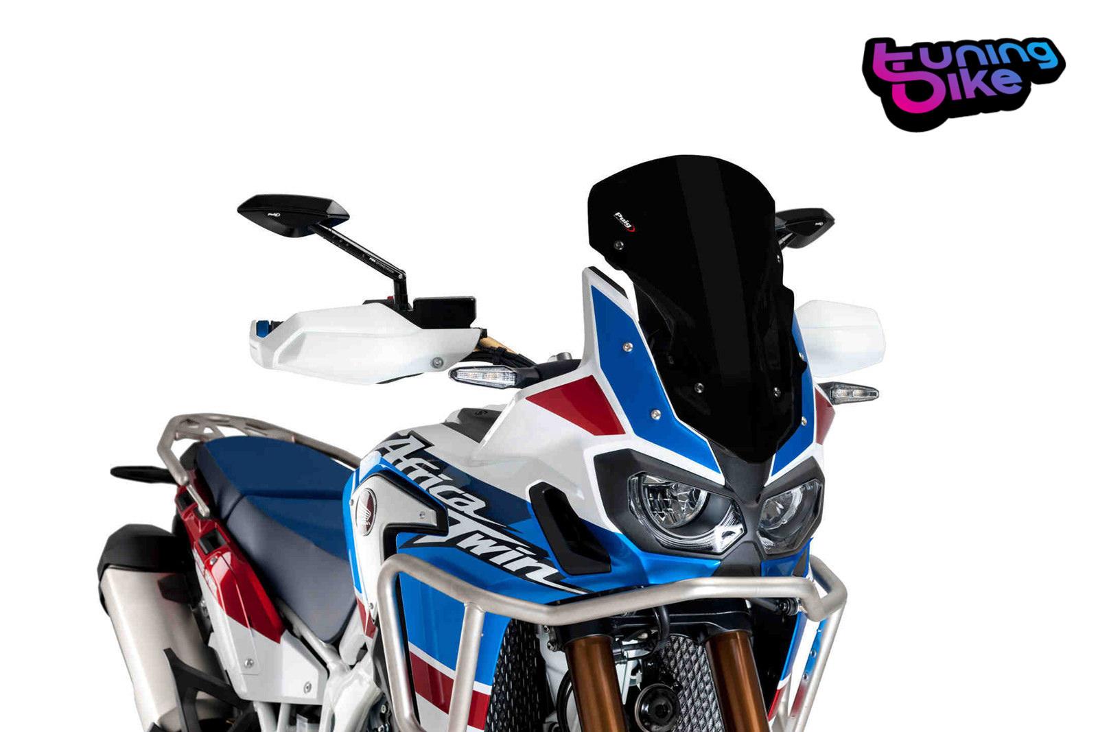 Puig Racing Screen Honda Crf1000l Africa Twin Adventure Sports 18 Black 8904n Ebay