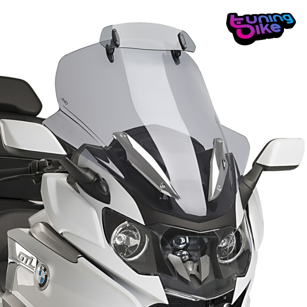 Puig 9513H Touring Screen With Visor Smoked