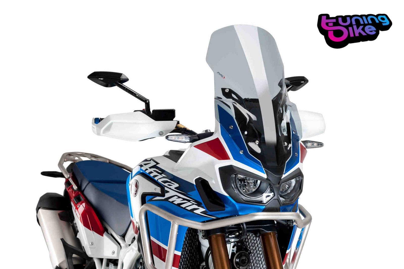 Bulle Racing Puig Honda Africa Twin CRF 1000 L 16-18 fum/é clair
