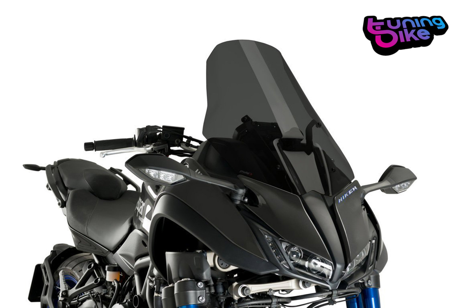 Puig 18-19 Ducati Panigale V4 Racing Windscreen 3mm Smoke