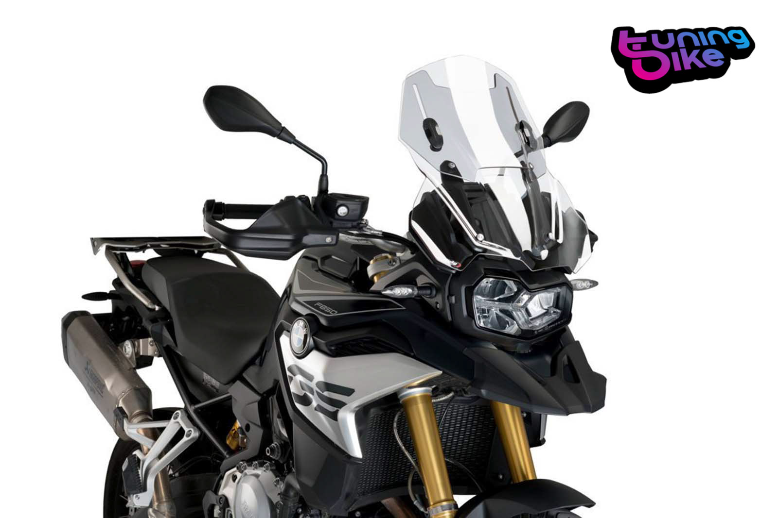 Clear Puig 18-19 BMW F750GS Touring Windscreen