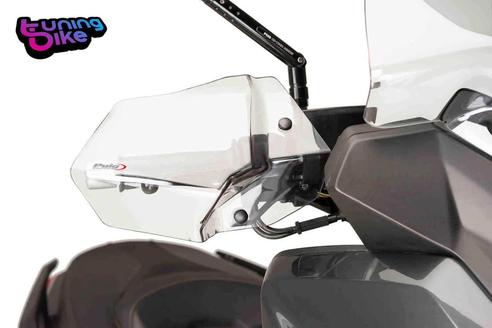 Embouts de Guidon Puig Yamaha X-Max 400 13-18 court rouge