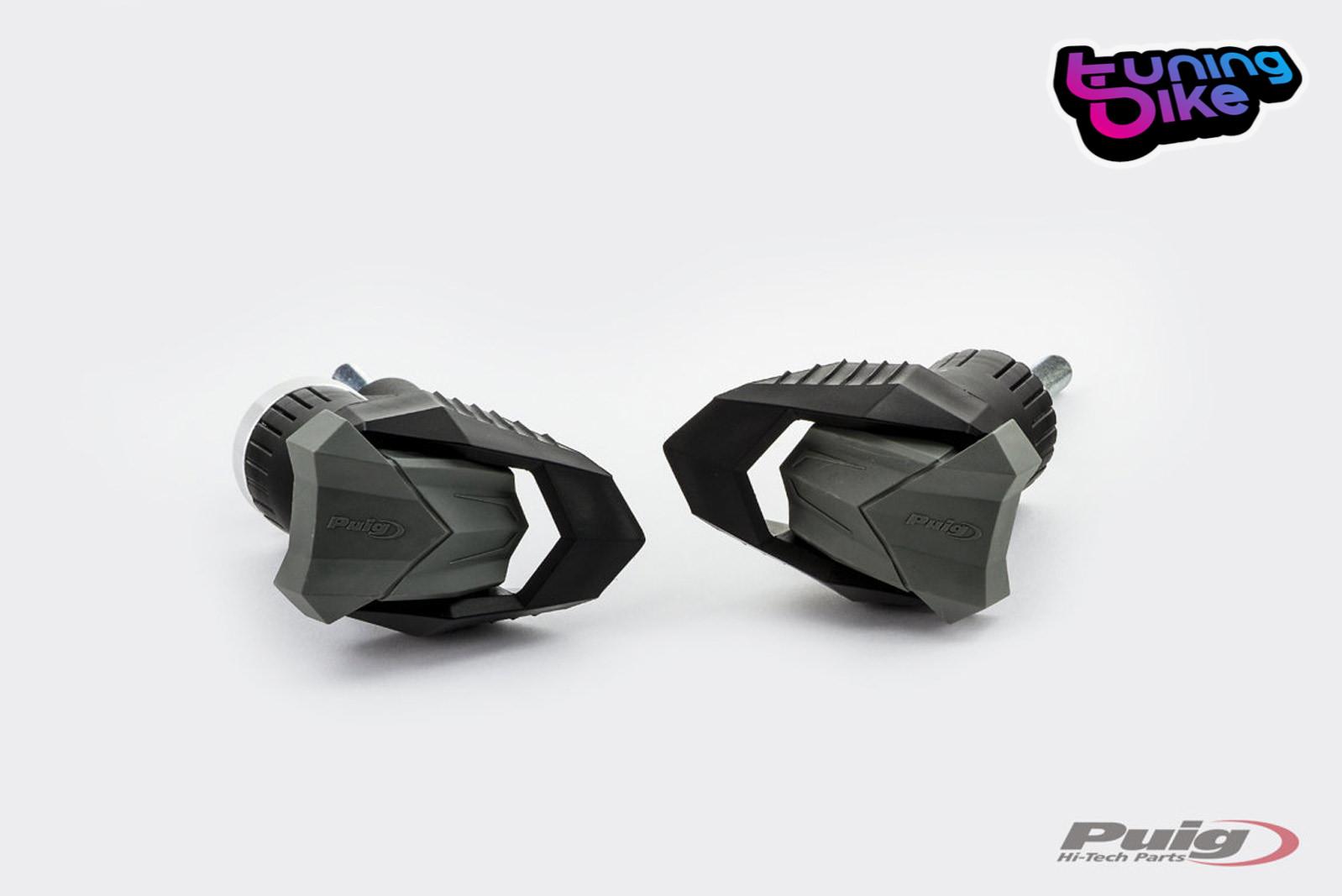 PUIG CRASH PADS MOD R12 HONDA CB500F 13/'-18/' BLACK