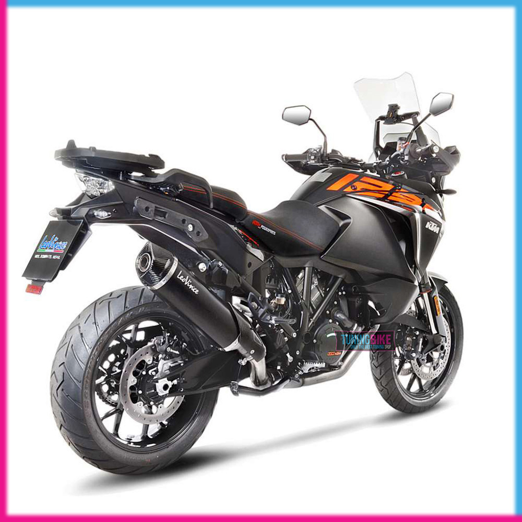exhaust terminal leovince ktm 1290 super adventure r s 17. Black Bedroom Furniture Sets. Home Design Ideas